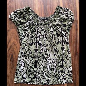 Carol Rose top shirt blouse casual medium used